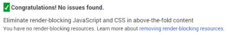 toi uu toc do web 9 Hướng dẫn tăng chỉ số Google PageSpeed Insights với WordPress